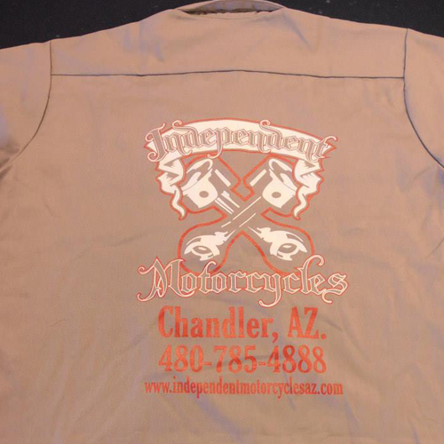 Red kap work shirt for T shirt printing chandler az